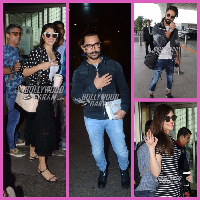 Bolly celebs airport Sep '17