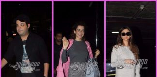 Photos: Kangana Ranaut, Varun Sharma and Daisy Shah make a style statement at airport