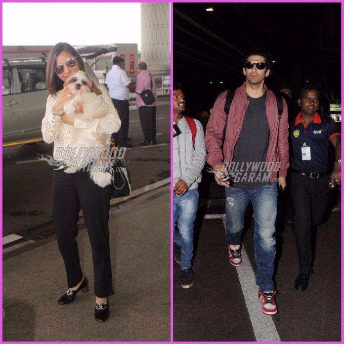 Celebrities airport