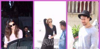 PHOTOS – Kriti Sanon, Tiger Shroff and Iulia Vantur snapped on casual outings