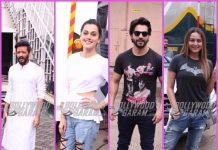Photos: Varun Dhawan, Taapsee Pannu, Riteish Deshmukh and Sonakshi Sinha snapped at work