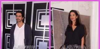 Arjun Rampal with wife and daughters attend special screening of Daddy