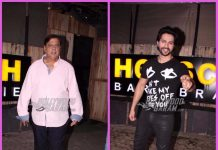 Photos: David Dhawan and Varun Dhawan spend quality time at restaurant