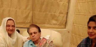 Priyanka Chopra visits Dilip Kumar at his residence