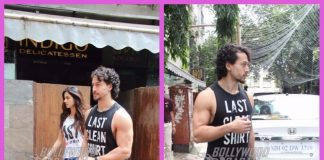 Tiger Shroff and Disha Patani have a lunch date at a popular restaurant