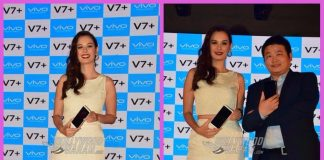 Evelyn Sharma launches Vivo V7 Plus smartphone in India – PHOTOS