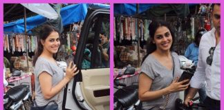 Genelia D'Souza is a pretty muse in casuals outside Mount Mary's Church in Bandra