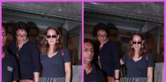 Hazel Keech spends time with mother at a restaurant – PHOTOS