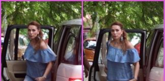 Actress Iulia Vantur looked casual at a popular salon in Mumbai spending leisure time – PHOTOS