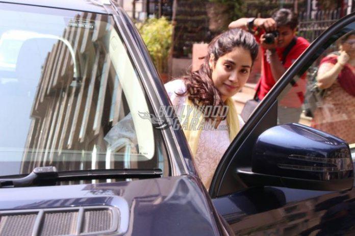 Jhanvi Kapoor snapped- 1