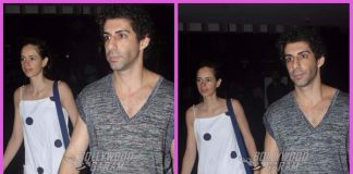 Kalki Koechlin and Jim Sarbh snapped together at airport – PHOTOS