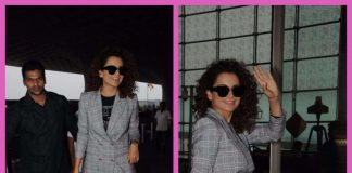 Kangana Ranaut looked chic in her latest airport look