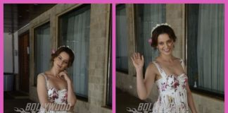 Kangana Ranaut looked elegant in floral dress while promoting Simran