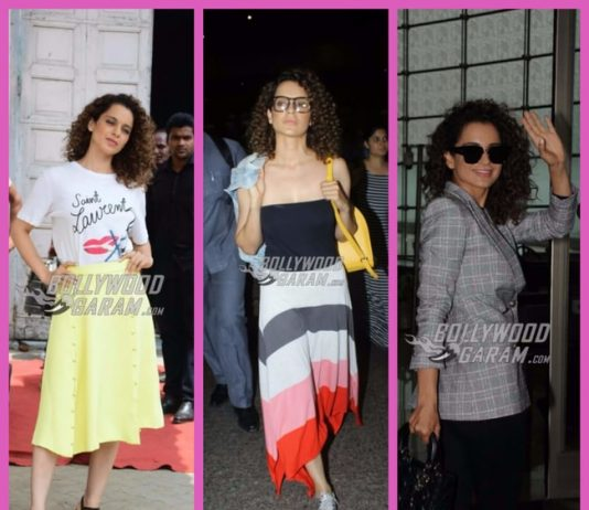 Kangana Ranaut and her peppy style quotient during Simran promotions – PHOTOS