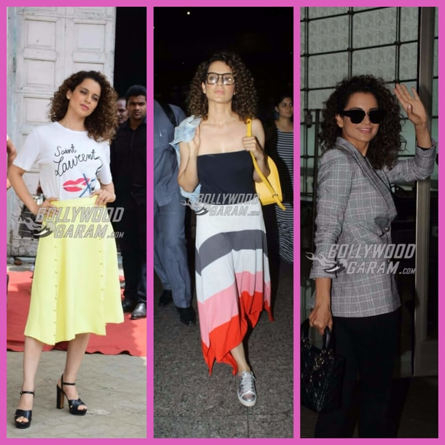 Kangana different looks