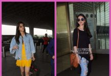 Kriti Sanon and Aditi Rao Hydari made stylish appearances at the airport – PHOTOS