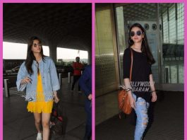 Kriti Sanon and Aditi Rao Hydari made stylish appearances at the airport – PHOTOS