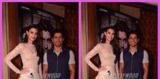Farhan Akhtar and Diana Penty promote Lucknow Central in style