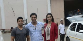 Farhan Akhtar and Diana Penty promote Lucknow Central outdoors – PHOTOS