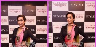 Malaika Arora graces Diwali collection launch of designer Satyapaul – PHOTOS