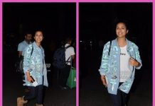 Parineeti gets stranded in Singapore, snapped at Mumbai airport on return – PHOTOS