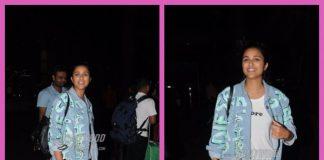 Parineeti gets stranded in Singapore, snapped at Mumbai airport on return – PHOTOS