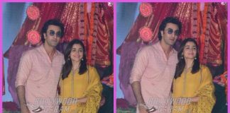 Alia Bhatt and Ranbir Kapoor offer prayers on final day of Navratri – PHOTOS