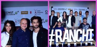 Anupam Kher and Jimmy Shergill promote Ranchi Diaries in Mumbai