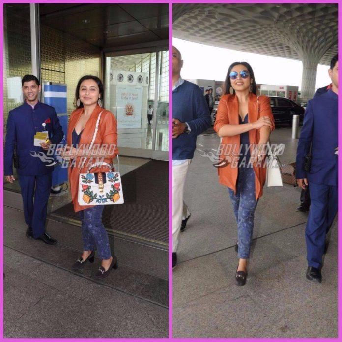 Rani mukherji airport