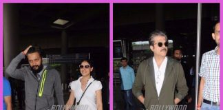 Photos: Riteish Deshmukh, Genelia D'Souza and Anil Kapoor sported a cool look at the airport