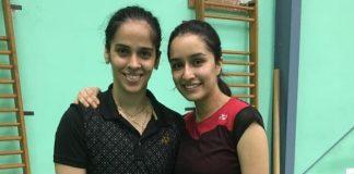 Shraddha Kapoor gets badminton lessons from Saina Nehwal for biopic
