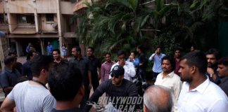 Salman Khan enjoys a ride on his bicycle