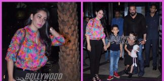 Sanjay Dutt spends time with wife and children over dinner – PHOTOS