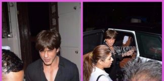 Photos: Shah Rukh Khan snapped dubbing at Shankar Mahadevan's recording studio