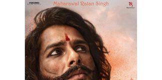 Shahid Kapoor shares first look as Rawal Ratan Singh in Padmavati