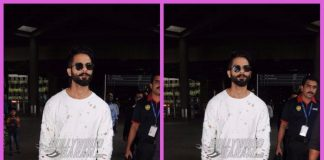 Shahid Kapoor snapped in Padmavati look at airport – PHOTOS