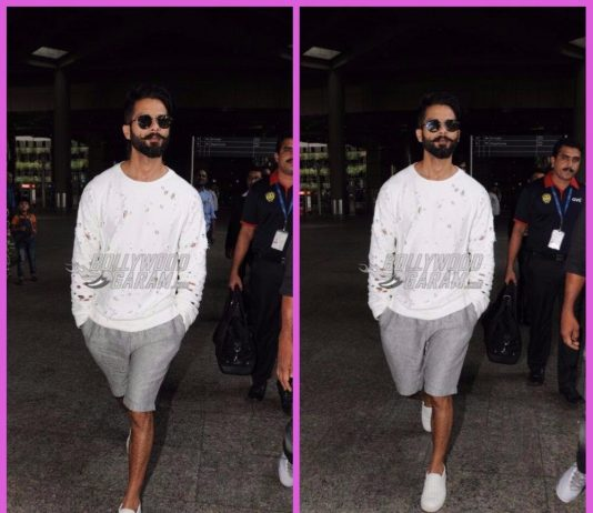 Shahid Kapoor snapped in Padmavati look at airport – PHOTOS