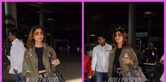 Shilpa Shetty makes a stylish appearance at the airport