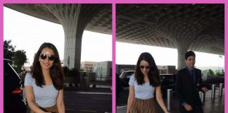 Shraddha Kapoor snapped in style at airport leaving for Hyderabad for filming Saaho
