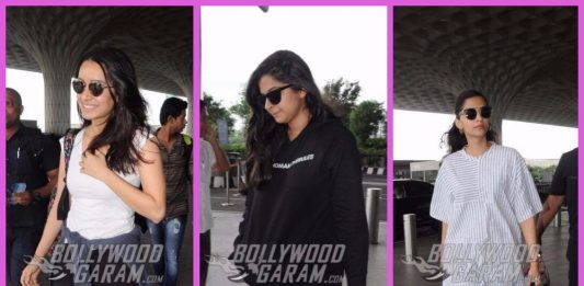 Shraddha Kapoor and Sonam Kapoor leave on their respective work schedules – PHOTOS