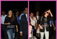Photos: Sonakshi Sinha and Jacqueline Fernandez spotted together at the airport in a dash of black
