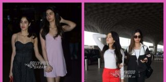 Jhanvi and sister Khushi Kapoor upped the style ante at the airport – PHOTOS