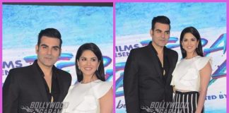Photos: Sunny Leone and Arbaaz Khan launch poster of Tera Intezaar at an event in Delhi