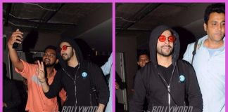 Varun Dhawan mobbed by fans while making his way at the airport – PHOTOS