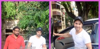 Varun Dhawan and Shoojit Sircar caught having a deep conversation