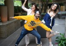 Photos: Judwaa 2 lead actors have fun in Delhi at film promotions