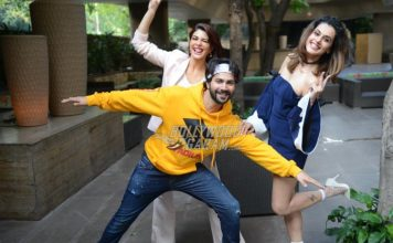 Photos: Judwaa 2 lead actors have fun in Delhi at film promotions