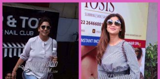 Shilpa Shetty and Neetu Singh Kapoor snapped outside spas in Mumbai – PHOTOS