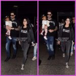 Sunny Leone and  Daniel Weber with daughter Nisha snapped at airport – PHOTOS