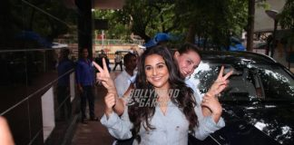 Vidya Balan meets with a minor accident in Mumbai